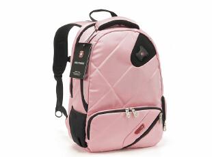 爆款限时秒杀!瑞士旅行者UW-6230粉色双肩电脑包 背包笔记本包,数码周边,