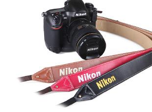 Nikon 尼康  单反 背带/肩带 皮质 官方正品,数码周边,