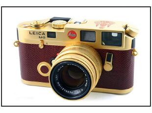 徕卡M6 泰王70寿辰纪念黄金套机 全球限量700台 莱卡镜头,数码周边,