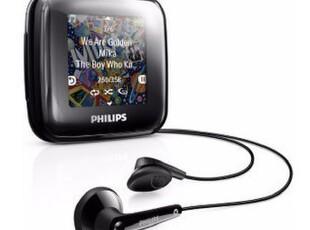 正品行货 飞利浦Spark ll 4G  跑步运动型MP3 飞声技术 触摸彩屏,数码周边,
