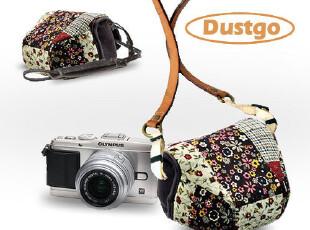 DUSTGO EPL2奥林巴斯EPL1相机包 皮套 复古EP2EP3 包 花团,数码周边,