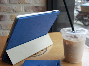 IPAD保护壳 韩国正品原装fenice皮套 魔术贴式 超薄日记本式5色,数码周边,