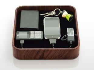 Bluelounge Sanctuary (Wood)原木 木纹 多功能充电器 iphone 4,数码周边,