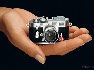 MINOX徕卡M3 5.0PLUS/LEICA原标/白色/金色/现货/德国直邮 木盒,数码周边,