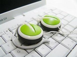【正品行货】硕美科 DX-122 挂耳 耳机 耳麦 漂亮时尚 绿/蓝/黄,数码周边,