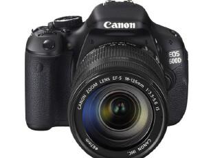 【狂暑季】佳能单反相机EOS 600d/18-135套机 佳能600d正品,数码周边,