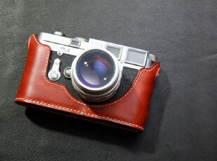 Funper手工 Leica 俫卡M3 相机皮套 (有单双拨,大小耳区分),数码周边,