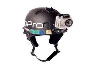 GoPro HD HERO 2 头盔固定架 - Helmet Front Mount,数码周边,