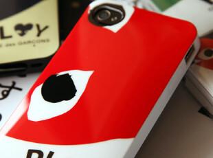 川久保玲PLAY 心脸面具 IPHON4E/S 手机壳保护套 三款选,数码周边,