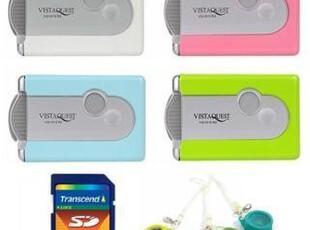 LOMO相机 数码VQ1015 R2 + 2G 创见SD行货卡 + 全套镜头 包邮,数码周边,