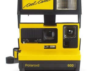 POLAROID 宝丽来 拍立得 COOL CAM 600 一次成像 相机 黑黄,数码周边,