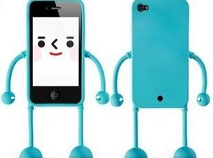 韩国appitoz iPhone 4/4s 表情小人立体苹果手机外壳 保护套 4色,数码周边,