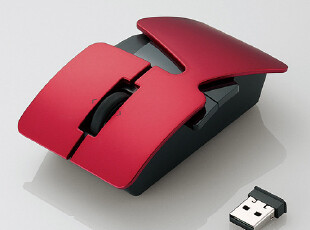 emo+elecom-nendo重叠镭射无线鼠 创意礼物 无线鼠标,数码周边,