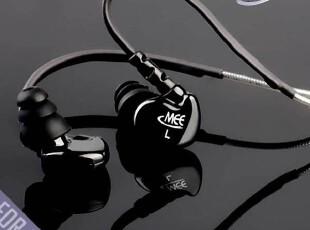 美国迷籁 MEElectronics M6-BK 运动型 入耳式耳机 授权特价 黑色,数码周边,