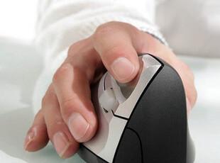 四皇冠 正品 德国Minicute 人体工程学健康无线鼠标 包邮,数码周边,