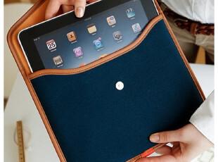 新款|韩国进口|时尚创意个性ipad专用包ipad保护套商务包|海军蓝,数码周边,