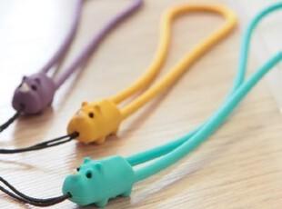 正品授权台湾Bone Rhino Strap犀牛防刮硅胶手机挂绳挂件 手机链,数码周边,
