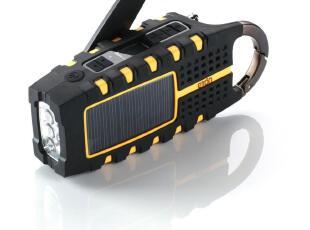 代购!伊顿Eton 多用途太阳能收音机/充电器/手电筒 生存装备,数码周边,