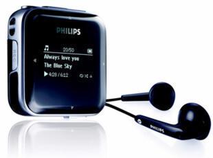 飞利浦MP3 SA0283 4G 运动MP3播放器 飞声音效 包邮 送6件大礼,数码周边,