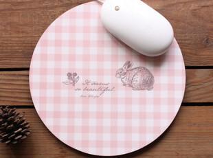 猪娃礼物 正品授权zakka北欧风 复古防滑圆形鼠标垫,数码周边,