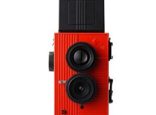 LOMO相机 日本135双反相机 BBF飞鸟 红色 包邮,数码周边,