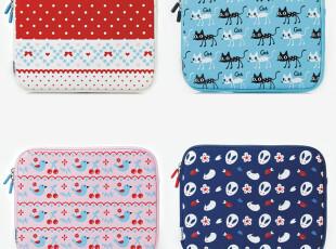 可爱毛绒苹果new ipad3 保护套ipad2内胆包 时尚平板电脑ipad壳套,数码周边,