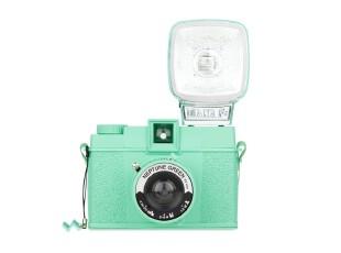 Lomo相机中国总代理拍立得Diana F+ Neptune Green 糖果绿限量版,数码周边,