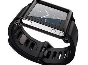 tunewear iPod nano 6手表带 腕带 LunaTik航空铝金属保护套,数码周边,