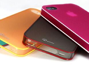 包邮正品pinlo Slice smoothie iphone4/4S 超薄TPU保护套 保护壳,数码周边,