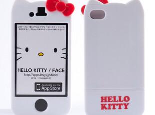 Hello Kitty 蝴蝶结苹果 iphone4 /4S 原装正品 保护套 手机套,数码周边,