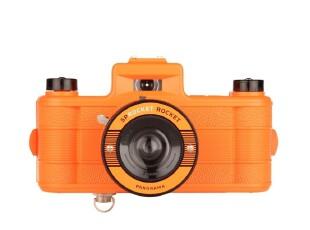 Lomo相机中国总代理Lomography全景Sprocket Rocket 橙色特别版,数码周边,