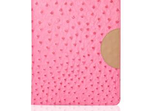 迪思拜尔 超薄可爱鸵鸟纹 the new iPad2/3 smart cover 保护皮套,数码周边,