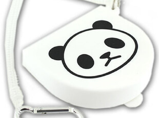 日本正版 POCHI PANDA 带挂钩熊猫多功能硅胶包 《314-344518》,数码周边,