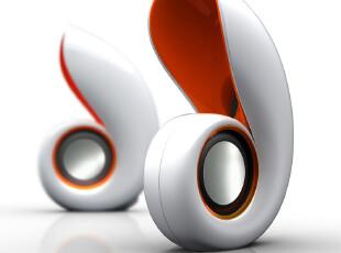 I-Mu/幻响 鹦鹉螺音箱 便携音响 笔记本/电脑音箱 创意礼品,数码周边,