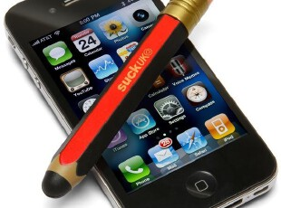 美国进口 大号铅式笔触摸屏手写笔|触控笔Giant Pencil Stylus,数码周边,