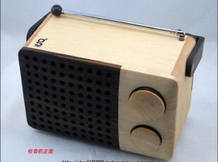印度尼西亚magno AM/FM Wooden Radio木制收音机WR01A/2B,数码周边,