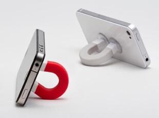 美国进口 Lufdesign磁盘吸盘 iPhone 支架Your Magnet美版iMag,数码周边,
