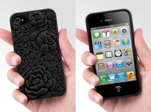 特价!SwitchEasy花团锦簇立体浮雕iPhone 4/4S保护壳Blossom,数码周边,