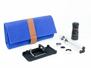 美国进口 Photojojo iPhone 4/4S镜头套件包 钱包+镜头套装,数码周边,