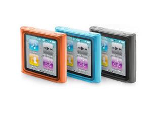 香港卡登仕ipod nano6 玲珑套保护套 硅胶套 送膜+防尘塞,数码周边,