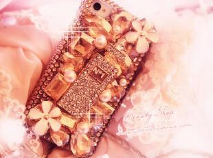 独家!♥BlingBling奢华施华洛水晶 名媛小香系列iphone4手机壳♥,数码周边,