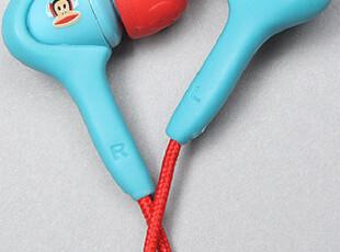 三钻纽约直送正品paul frank大嘴猴骷髅蓝色红色耳机代购包邮,数码周边,