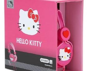 【预订】HELLO KITTY 套头式正品带线控麦克可爱粉色爱心耳机A,数码周边,