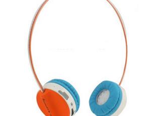 正品 无线插卡耳机 头戴式运动型直读MP3 有线支持手机通话电脑,数码周边,