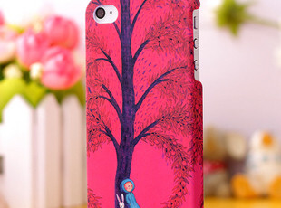 韩国磨砂彩绘漫画 iphone 4 4S 手机壳 保护套壳 外壳 苹果4s配件,数码周边,