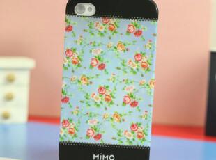 热卖米墨Mimo苹果iphone4s手机壳iPhone4外壳子田园碎花保护套,数码周边,