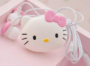 卡通Hello kitty个性时尚创意耳机 MP3MP4入耳式耳机,数码周边,
