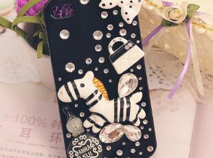斑马 苹果4s手机壳 正品 潮 ipone4/4S保护壳 手机套 外壳子,数码周边,