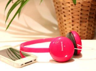 日本山业头戴便携挂耳式MP4配件耳机贴耳设计潮耳麦可爱耳机多色,数码周边,