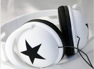 包邮韩版大星星 mix-style 头戴式耳机耳麦 MP3 MP4 手机 护耳式,数码周边,